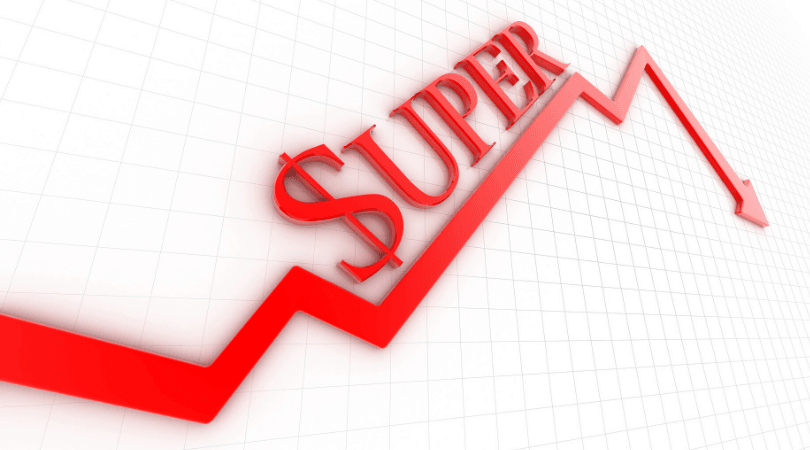 Superannuation decreases