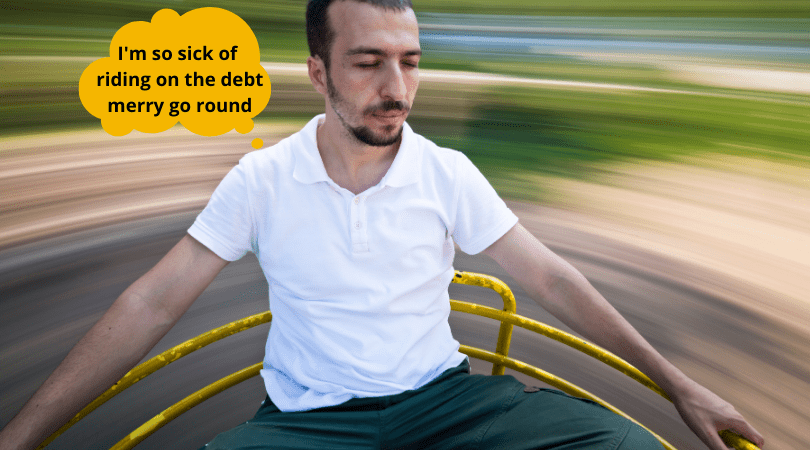 How to Step Off the Debt Cycle Merry Go Round